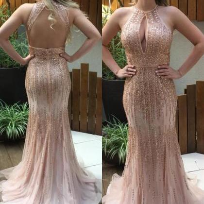 Real Nice Beaded Prom Dresses,Sequi..