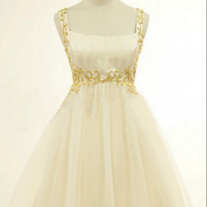 Ivory Homecoming Dresses Zipper-Up..