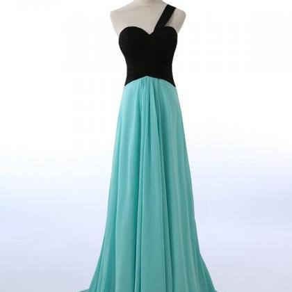 Long Bridesmaid Dress, Chiffon Brid..