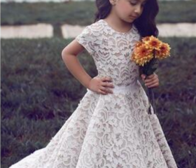 Lace Flower Girl Dr..