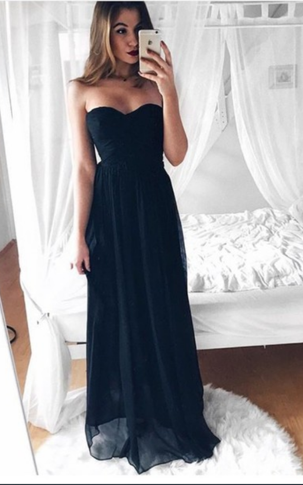 Guest Long Dresses for Graduation