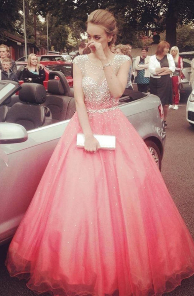 Princess Prom Dresses,Disney Prom Dresses,A-line Prom Dress,Ball ...