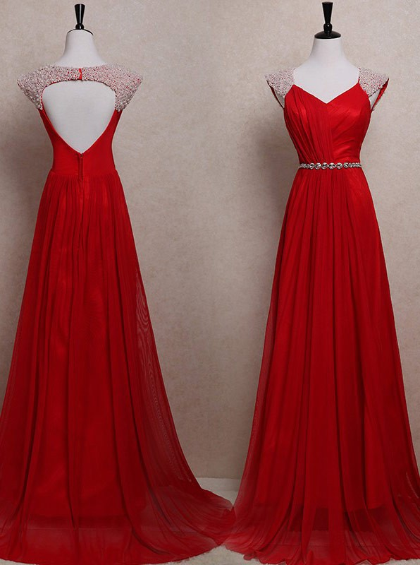 f27c27ac810 Dark Red Prom Dresses