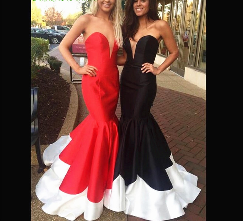 Celebrity Dress Mermaid Evening Dress,Corset Gowns, Colorful Dresses ...