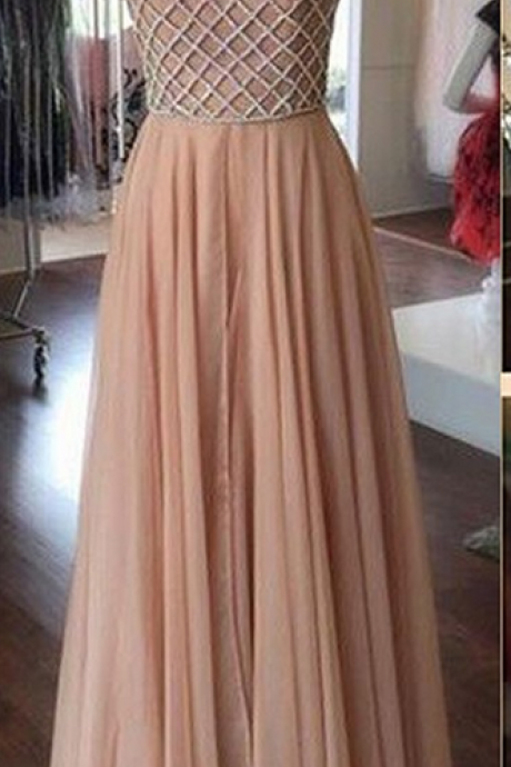 prom dresses,Sexy Prom Dress,Blush Pnk Prom Dress Long Prom Dresses Chiffon Prom Dresses Sexy Prom Dresses Prom Dresses Quinceanera Dresses