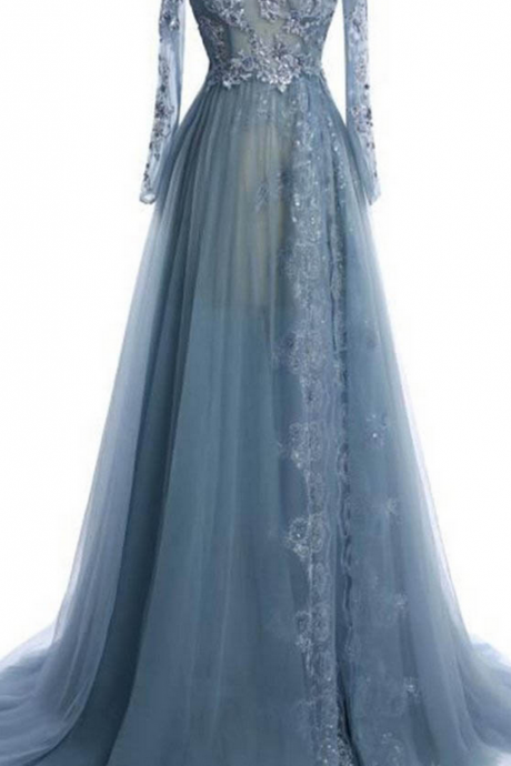 elegant prom dresses,tulle prom dresses,lace evening dresses,long sleeves evening dresses,off-shoulder long prom dresses,prom dresses,evening dresses,prom dress