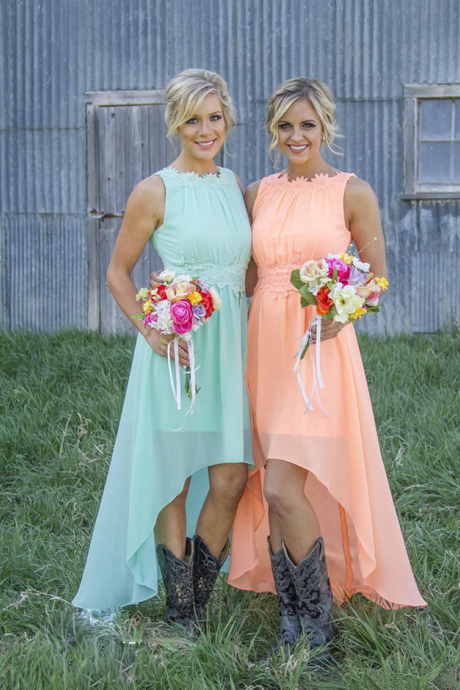 Bridesmaid Dresses,High Low Bridesmaid Dresses,Applique Bridesmaid Dresses,Chiffon Bridesmaid Dresses,Cheap Bridesmaid Dresses,Backless Bridesmaid Dresses