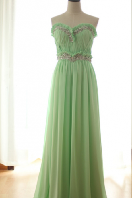 long bridesmaid dress, mint bridesmaid dress, cheap bridesmaid dress, chiffon bridesmaid dress, bridesmaid prom dress