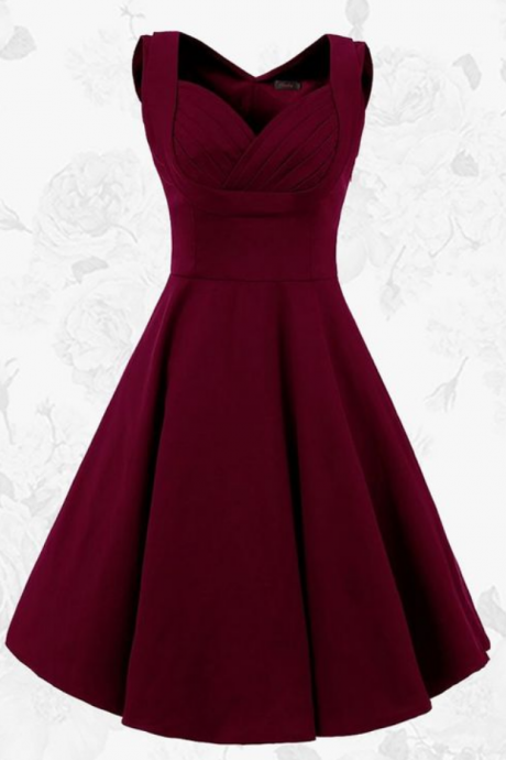 Prom Gown,Lovely Cute Prom Dress,Wine Red Sexy Prom Dress,Prom Party Dress,Burgundy Homecoming Dress,Sweet 16 Dress