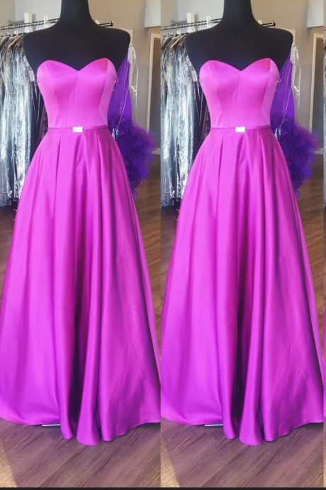 Purple Sweetheart Prom Dresses Wedding Party Dresses Formal Dresses Sweet 16 Dresses