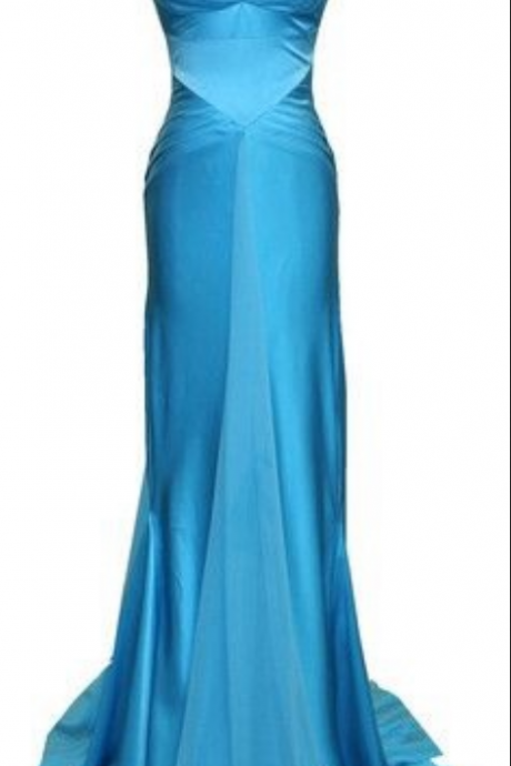 Prom Dresses,Evening Dress,Party Dresses,Blue Prom Dresses,Mermaid Prom Dress