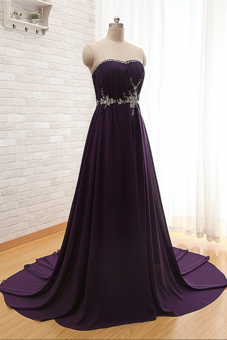 Prom Dress,Dark Purple Prom Dress,Sexy Prom dresses,Chiffon Prom Dresses,Custom Made Prom Dress,Long Prom Dresses, Prom Dresses,Prom Dresses