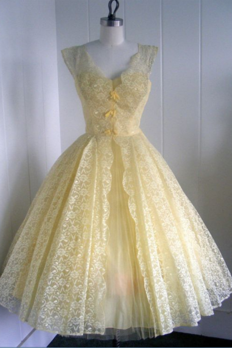 Homecoming dress , Vintage Ball Gown Homecoming Dresses V Neck Lace Mini Short Cocktail Dress Party Gowns Prom Dress