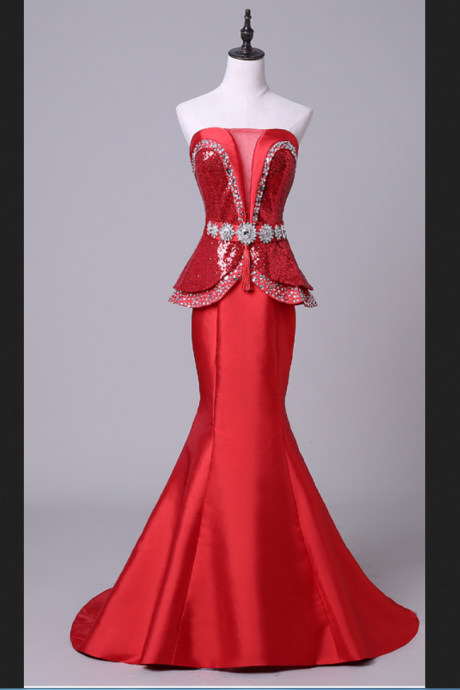 Evening Dresses, Evening Dress Lace, Evening Dress,Mermaid Evening Dresses,Pageant Dresses,Prom Dresses,Red Dress