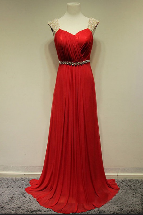 Prom Dress,Red Prom Dresses,Sexy Backless Beaded Prom dresses,Custom Made Prom Dress,Long Elegant Prom Dresses, Prom Dresses,Prom Dresses