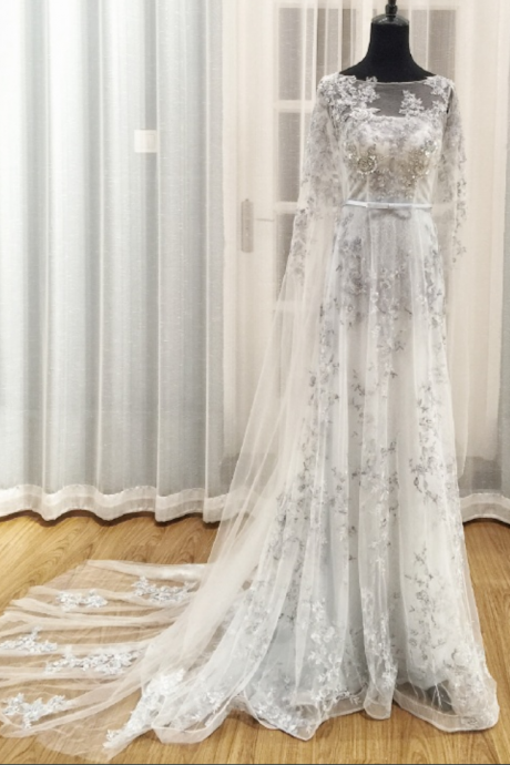 Cheap wedding dresses ,Gray Wedding Dress,Wedding Dresses,Wedding Dress,Wedding Gown,Bridal Gown,
