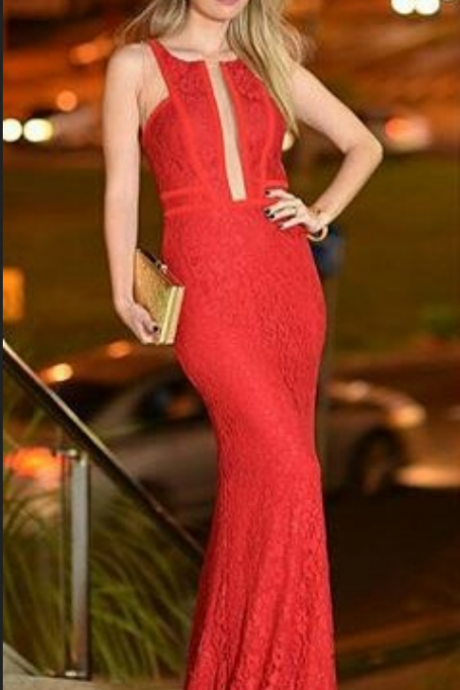 New Arrival Long Red Prom Dresses,Red Prom Dress,Prom Dress,Evening Dress,Women Dress