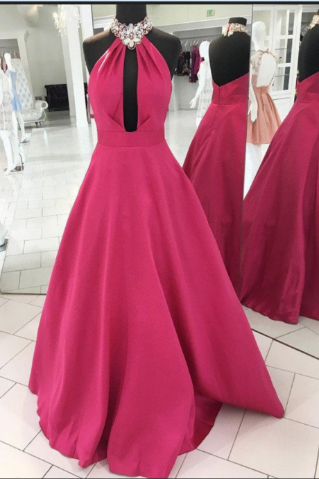 Charming Prom Dress,Sleeveless Prom Dress, Elegant Homecoming Dress, Long Evening Dress, Prom Dresses