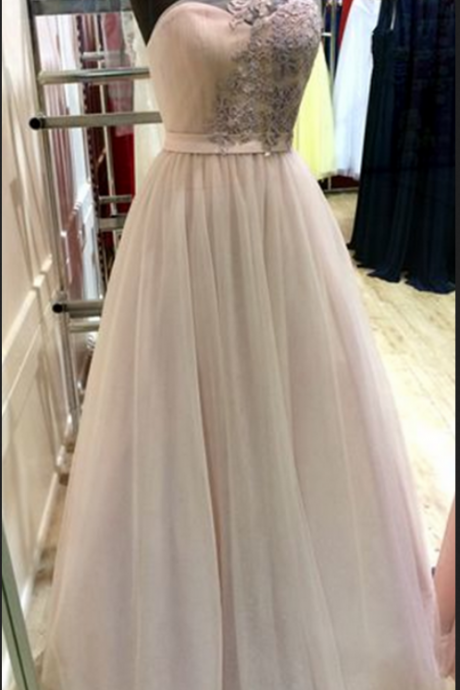 Prom Dress,One shoulder prom dresses ,A-line decals long prom dress,chiffon tulle evening dress