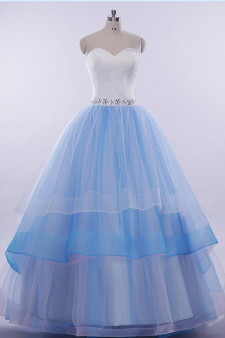 Cheap wedding dresses ,Ball Gown Layers Wedding Dress.Colorful Wedding Dress,