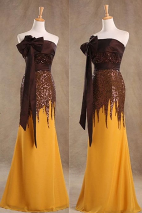 Formal Long Mermaid Beading Prom Dresses, Handmade Simple Cheap Prom Gowns,Evening Gowns