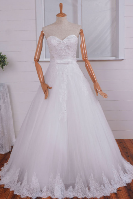 Real shot summer wedding dress high-grade A pendulum waist beads sexy lace wedding dress trailing new