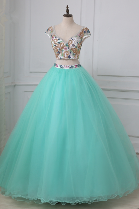 Arrived in sexy dress luxury crystal of Quinceanera party dress open dress