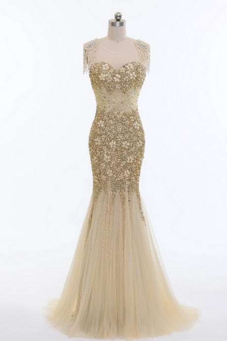 New arrived in beautiful dress champagne veils pearl top part of the acorn Cape Town sleeve cheap party dresses
