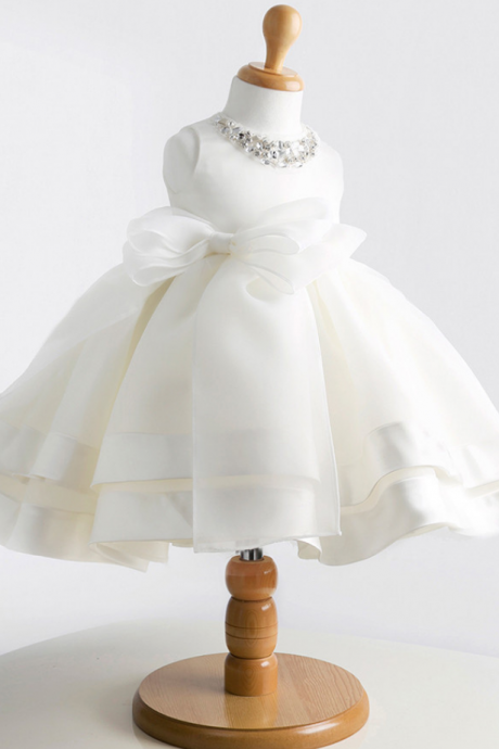 Flower girl dress, little girl dress, flower girl dress, ball gown flower girl dress, girls wedding party dress,High quailty flower girl dresses for weddings Little girls Elegant dress