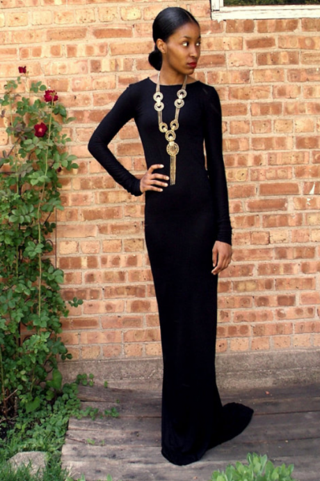 Charming Prom Dress,Long Sleeve Evening Dress,Formal Dress,Chiffon Prom Dresses ,Women Dress