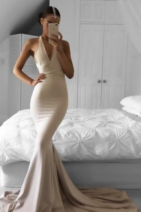 Champagne Evening Dresses,Chiffon Prom Dress,Sexy Prom Dresses,Cheap Prom Dress,New Fashion Prom Gowns,Elegant Prom Dress,Evening Gowns,Evening Gown