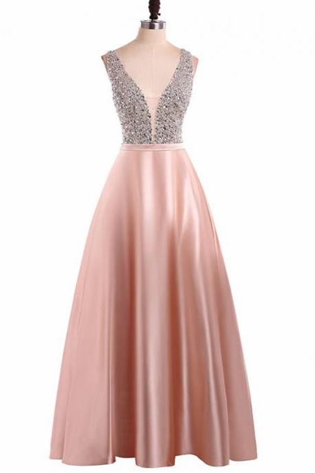 Long Prom Dresses, Sexy Prom Dresses, Sleeveless Party Prom Dresses, Satin Prom Dresses, Popular Prom Dresses,Prom Dresses Online