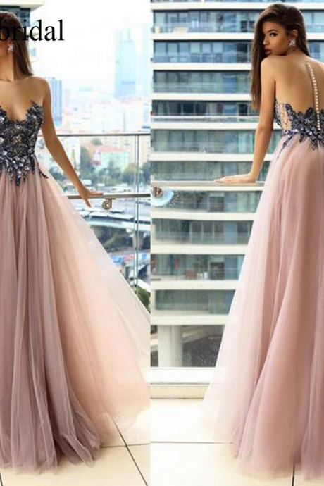 pink prom dresses, lace evening dresses, lace evening dresses, arabic evening gowns, a line evening dresses, blush prom dresses, lace evening dresses, sexy evening gowns, pink evening dress, long evening gowns