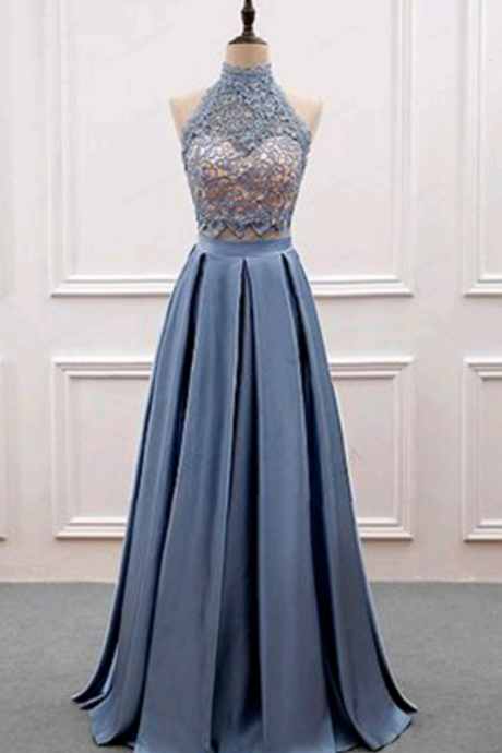 O-Neck A-Line Prom Dress,Long Prom Dresses,Cheap Prom Dresses, Evening Dress Prom Gowns, Formal Women Dress,Prom Dress