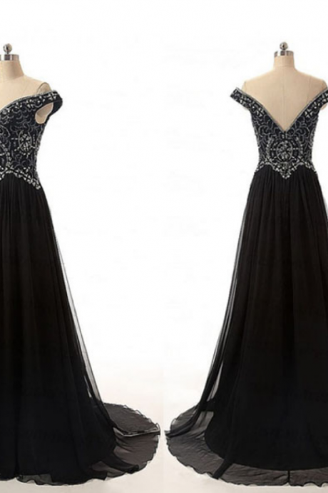 long prom dress, black prom dress, modest prom dress, new design prom dress, elegant prom dress, affordable prom dress, prom dress, evening dress