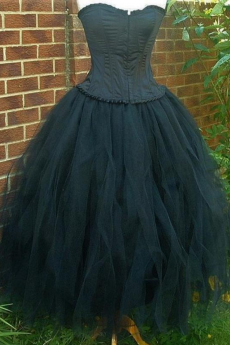 tutu skirt tulle goth steampunk bridesmaid alternative clothing wedding dress
