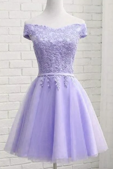 Charming Sweetheart Knee Length Homecomin Dress, Short Prom Dress