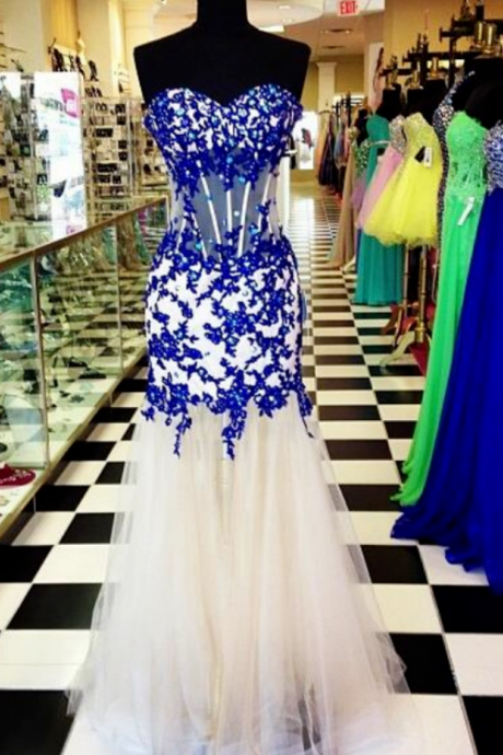Prom Dress, Elegant Prom Dress, Sweetheart Prom Dress, Prom Dress, Crystal Prom Dress, Tulle Prom Dress