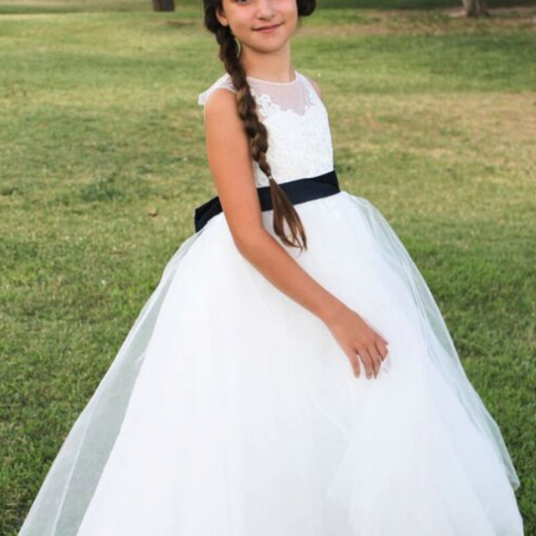 Cute Bridesmaid Girl Birthday Wedding Party Formal Flower Girls Dress baby Pageant dresses