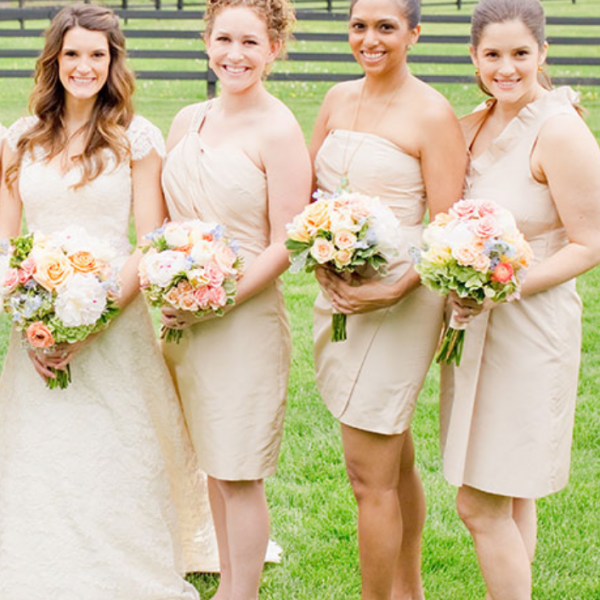 One Shoulder Homecoming Dresses, a variety of options to customize the bridesmaid dresses