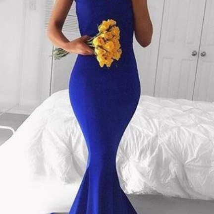 Royal Blue Prom Dresses, Simple Prom Dress,Sexy prom Dress,Long Prom Dress,Cheap Formal Prom Dresses