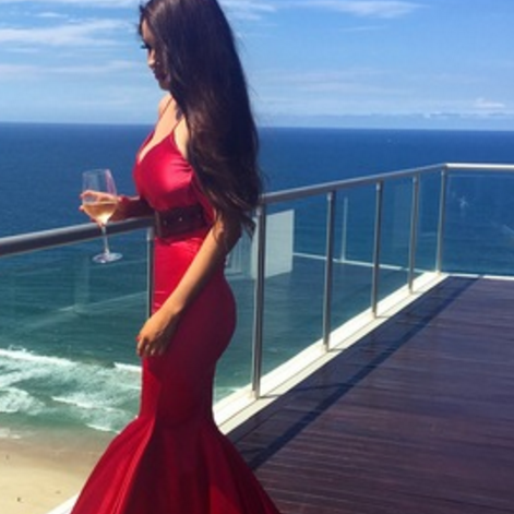 Sexy Red Prom Dresses,Long Evening Dresses,Prom Dresses