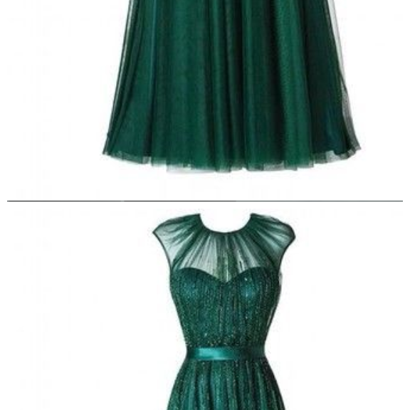 Custom Made Charming Green Chiffon formal Dresses,Luxury beads Tulle Prom Dress,O-Neck Prom Dress,Sequined prom Dress,A-Line Evening Dresses,Charming Evening Dresses,formal dresses,Long Prom Dresses,Evening Dresses, Prom Dresses,Long Beading Prom Dresses, Cocktail Dresses, formal dresses,Wedding guests dresses