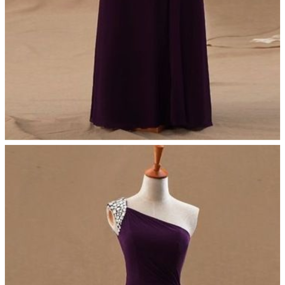 Custom Charming Purple Prom Dress,Sleeveless One Shoulder Evening Dress,Beading Prom Dress,cheap Beading Evening Dress,Sexy Sweetheart Prom Dress,Cocktail Dresses, formal dresses,Wedding guests dresses