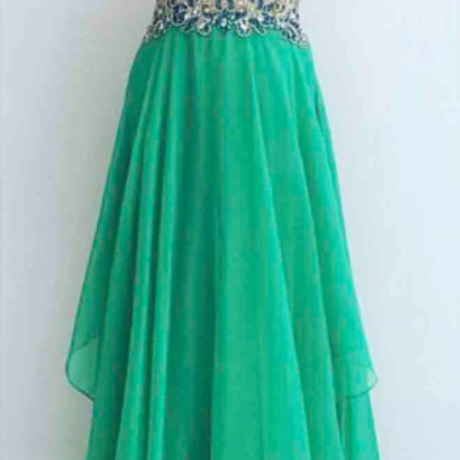Prom Dress,Green prom dresses, chiffon prom dress, prom dress, long prom dresses, prom dress online, sexy prom dress,Wedding Guest Prom Gowns, Formal Occasion Dresses,Formal Dress