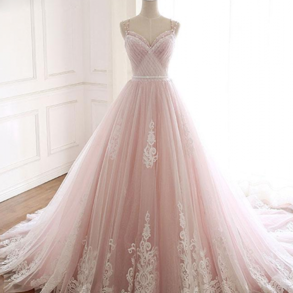 sweetheart lace tulle long prom dress lace evening dress